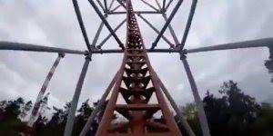 Vídeo com montanha russa mais louca que você já viu na vida!!!