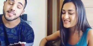 Casal cantando musica Trevo ANAVITÓRIA part. TIAGO IORC!