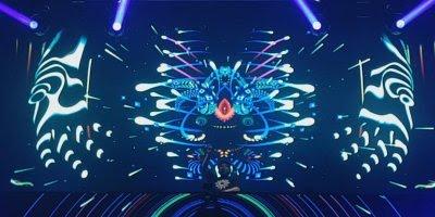 Combinação de luzes com musica, uma ideia que combina com a balada!