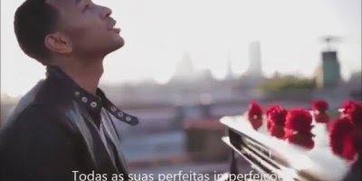 Vídeo da musica All Of Me de John Legend com participação de Lindsey Stirling