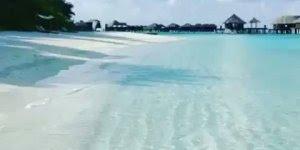 Águas cristalinas das parais das Ilhas de Maldivas, um pedacinho do paraíso!!!