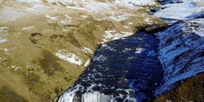 Conheça uma das maiores quedas dágua da Islândia, um lugar lindíssimo!!!
