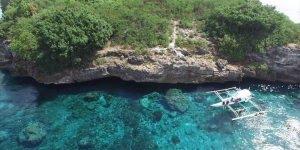 Lindo lugar Pescador Island que fica em uma ilha nas Filipinas, é maravilhoso!