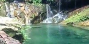 Paraíso perdido no meio da natureza, olha só que lugar lindo!!!