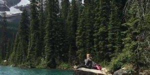 Vídeo com lindo lago OHara-Canadá, simplesmente um espetáculo de lugar!!!