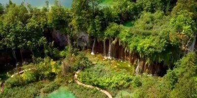 Vídeo mostrando um pedacinho do Parque Nacional Plitvice que fica na Croácia!!!