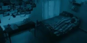 Câmera de segurança capta atividades paranormais dentro do quarto!!!