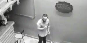 Câmera de segurança grava o momento exato de uma atividade paranormal, confira!
