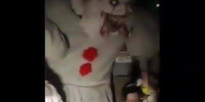 Casa assombrada com tema de filme de terror famoso, teria coragem de entrar ai?