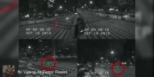 Fantasma é flagrado em câmera de segurança no México, confira!!!