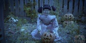 Feliz Halloween! Boneca aterrorizante para assustar os amigos!!!