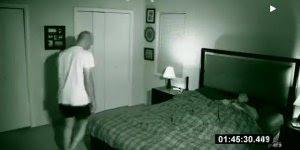 Homem colocou a câmera para gravar enquanto dormia e veja o que capturou!!!