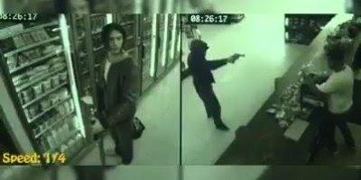 Homem é salvo em assalto por suposto alienígena, vejas as imagens!!!
