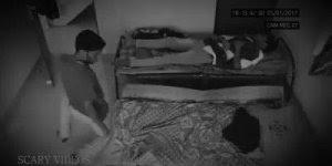 Homem sendo puxado pelas pernas por algo sobrenatural enquanto dormia!!!