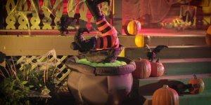 Mensagem de Feliz Halloween para os amigos! Feliz Dia das Bruxas!!!