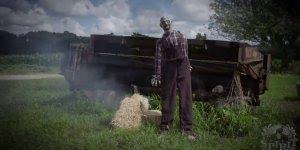 Para noite de Halloween que tal este boneco zumbi! Ele é assustador!!!