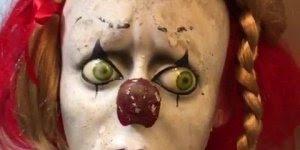 Terrível Annabelle, não espera é só um palhacinho assustado!!!