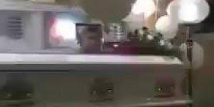 Vídeo de estranho fenômeno paranormal que ocorreu durante um velório!!!