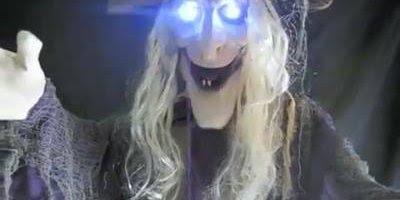 Vídeo de Feliz Halloween para amigos! Tenha um Feliz Dia das Bruxas!!!