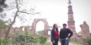 Vídeo de terror, veja só o que estes turistas capturaram enquanto filmavam!!!