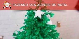 Fazendo sua árvore de Natal passo a passo, só não tem árvore quem não quer!