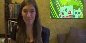 Gente encontrei todos Pokémon! A não é só uma mulher que faz as vozes de todos!!