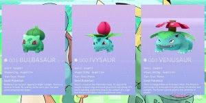 Para os grandes fãs de Pokémon Go conheça cada Pokémon e suas evoluções!!!