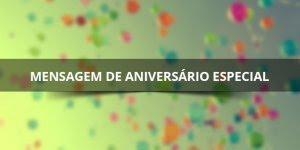 Feliz aniversario para whatsapp, do jeito que uma data especial merece!