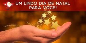 Mensagem de Bom Dia de Natal. Um lindo dia de Natal para você!!!