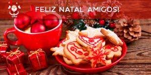 Mensagem de Natal amigos e amigas, Deus abençoe a todos neste dia especial!!!