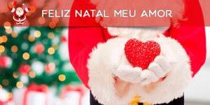 Mensagem de Natal para amor, você é o melhor presente que o Papai Noel me deu!!!