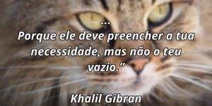 Frase de amizade de Khalil Gibran, compartilhe em seu Facebook!