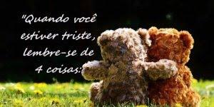 Mensagem de amizade.Quando estiver triste lembre-se que pode contar comigo!!!