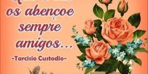 Mensagem linda para amigos e familiares! Deus abençoe minha família e amigos!!!
