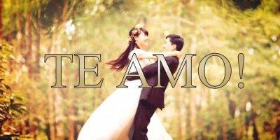 Mensagem amor romântica. O amor é saber enfrentar a vida juntos!!!
