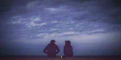 Mensagem de amor. O amor não é apenas dizer eu te amo, vai além das palavras!!!