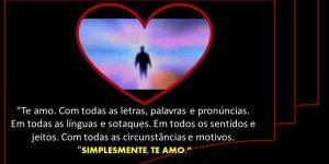 Mensagem de Amor para Esposa! Te amo com toda minha alma e coração!!!