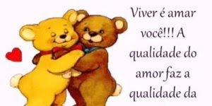 Mensagem linda de amor para namorado ou namorada! Viver é amar você!!!