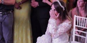 Noivo faz dança surpresa para noiva, ótima ideia para festa de casamento!