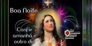 Boa noite com Jesus, envie para seus amigos do Whatsapp!!!