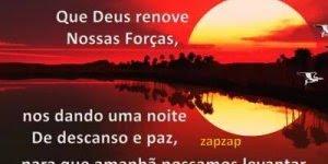 Boa Noite com mensagem, que Deus renove as nossas forças!!!