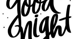 Good Night para Facebook, compartilhe com seus amigos do Facebook!