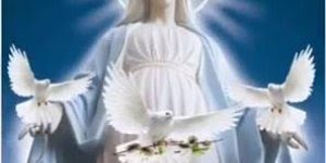 Mensagem de Boa Noite para amigos Católicos! Que a Virgem Maria a te abençoe!