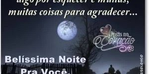 Mensagem de Boa Noite para Amigos e Familiares! Belíssima Noite pra você!!!