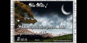 Mensagem de Boa Noite para Amigos! Tenham todos uma noite de paz!!!
