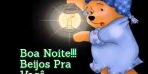 Vídeo de boa noite para amigos do Whatsapp com ursinho Pooh!