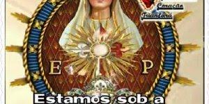 Mensagem de Boa Tarde com proteção de Maria, para Facebook!!!
