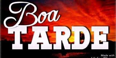 Vídeo com mensagem de Boa Tarde, que a paz do Senhor reine sobre sua tarde!!!