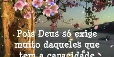 Vídeo de Bom Dia com linda mensagem de Deus para enviar aos amigos e amigas!!!
