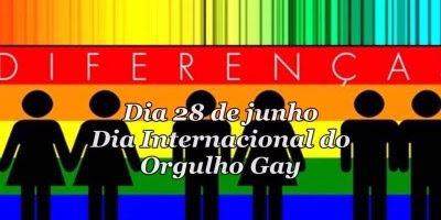 Dia 28 de Junho é Dia Internacional do Orgulho Gay, compartilhe este vídeo!!!